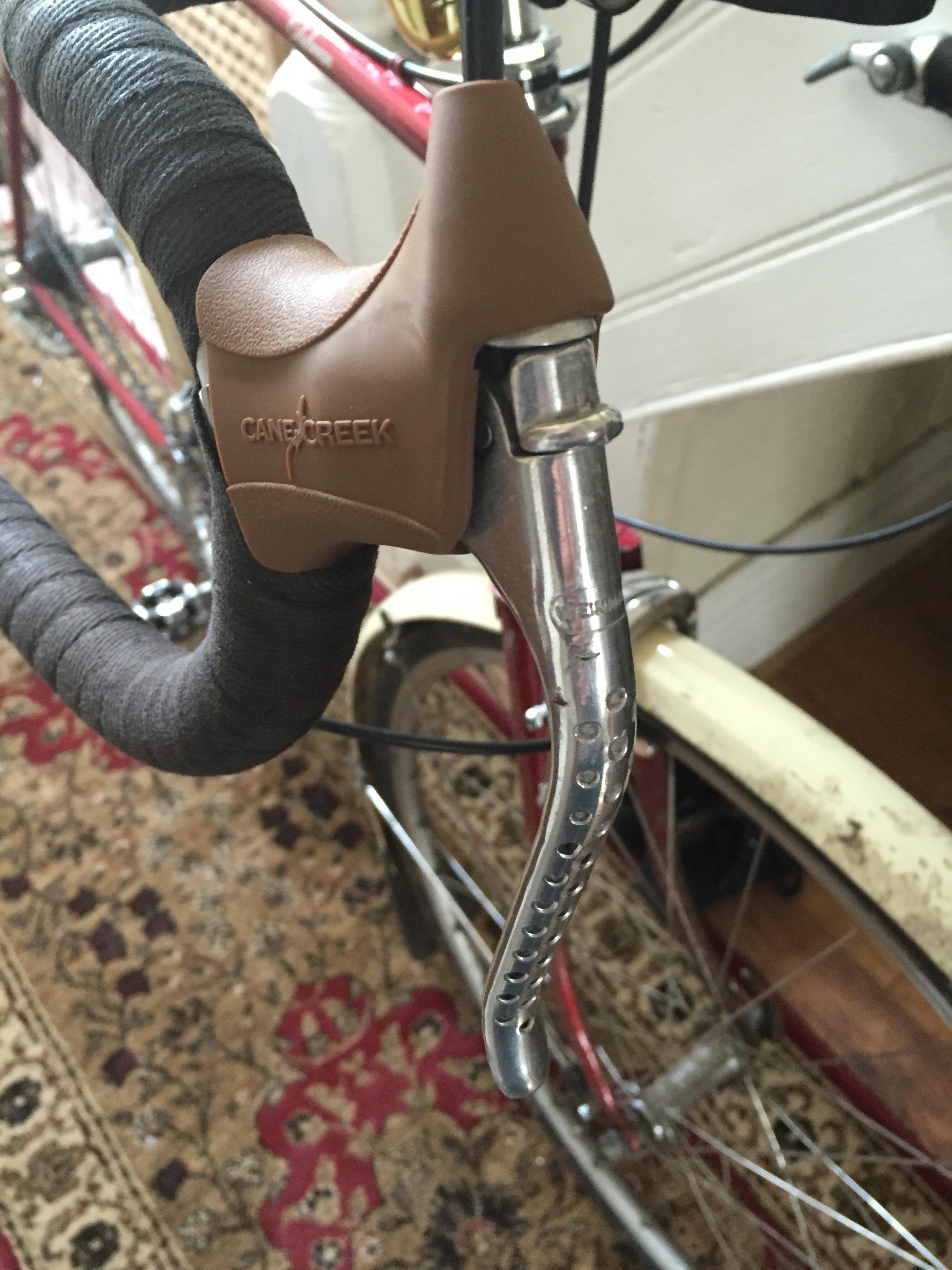 bike bicycle system hoods New Dia-Compe Non-Aero Brake Lever Hood Black